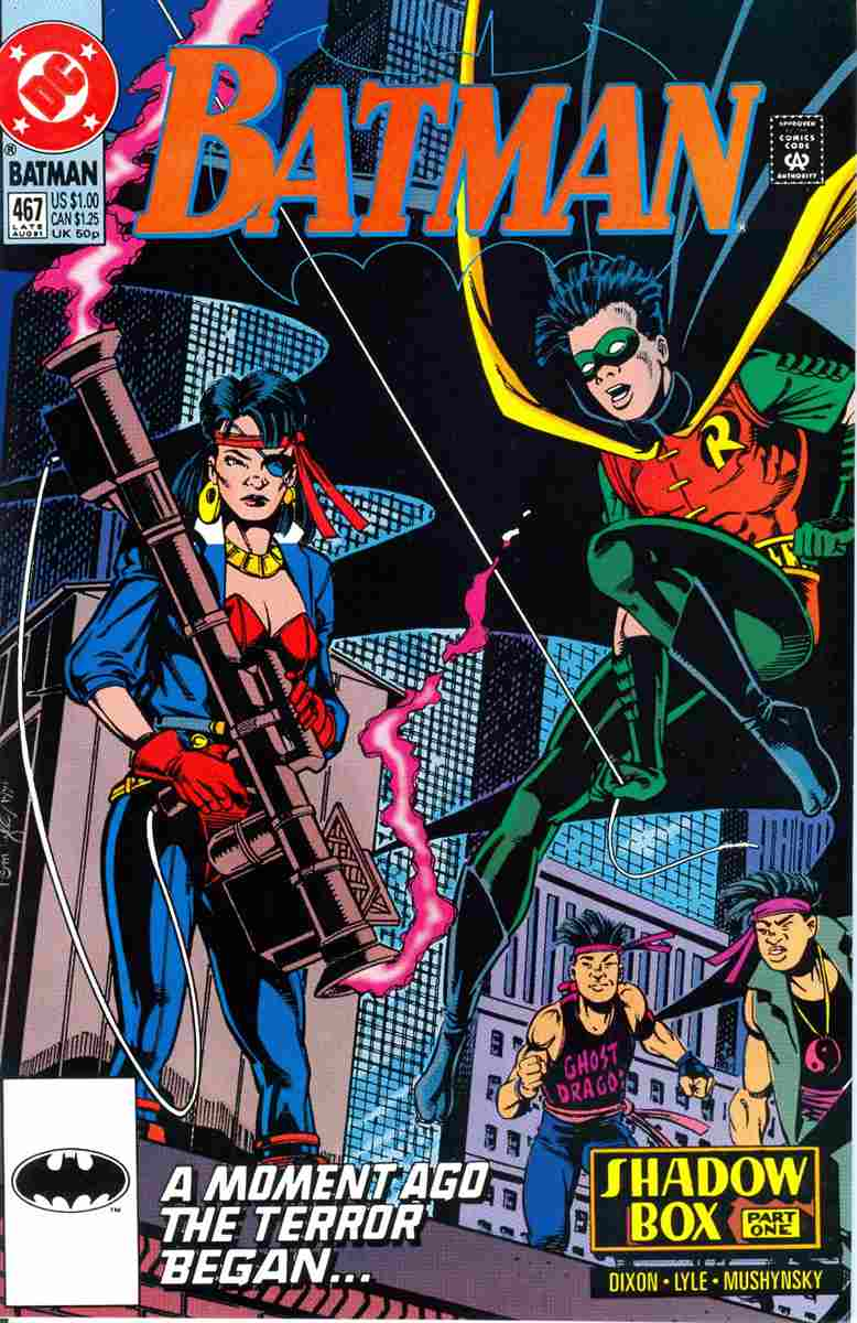 Batman comic issue 467