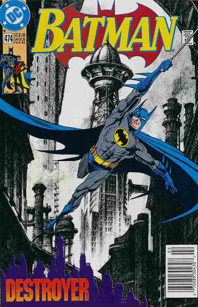 Batman comic issue 474