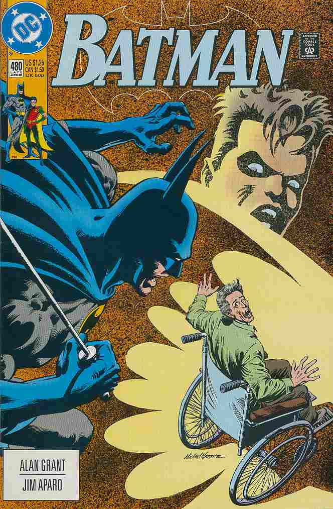 Batman comic issue 480