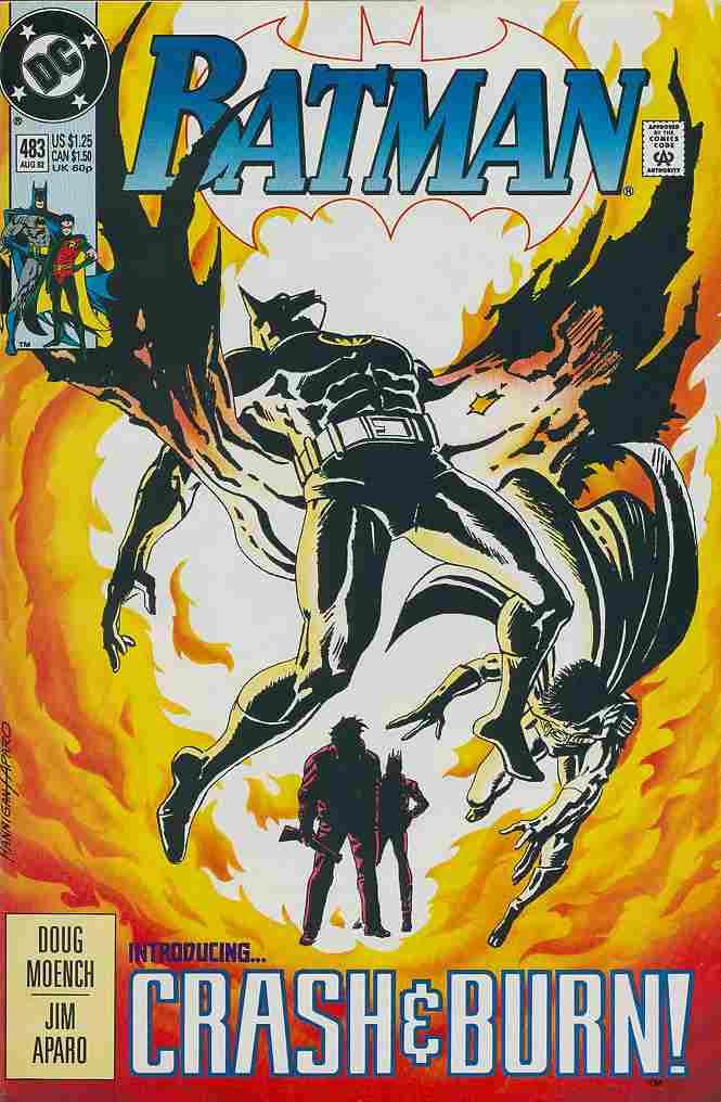 Batman comic issue 483