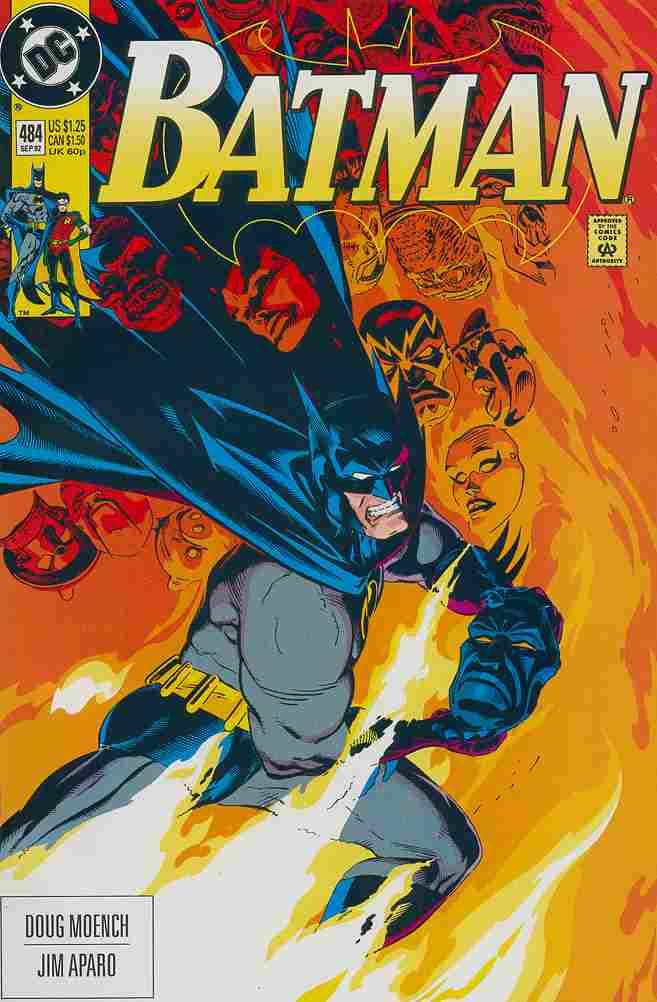 Batman comic issue 484