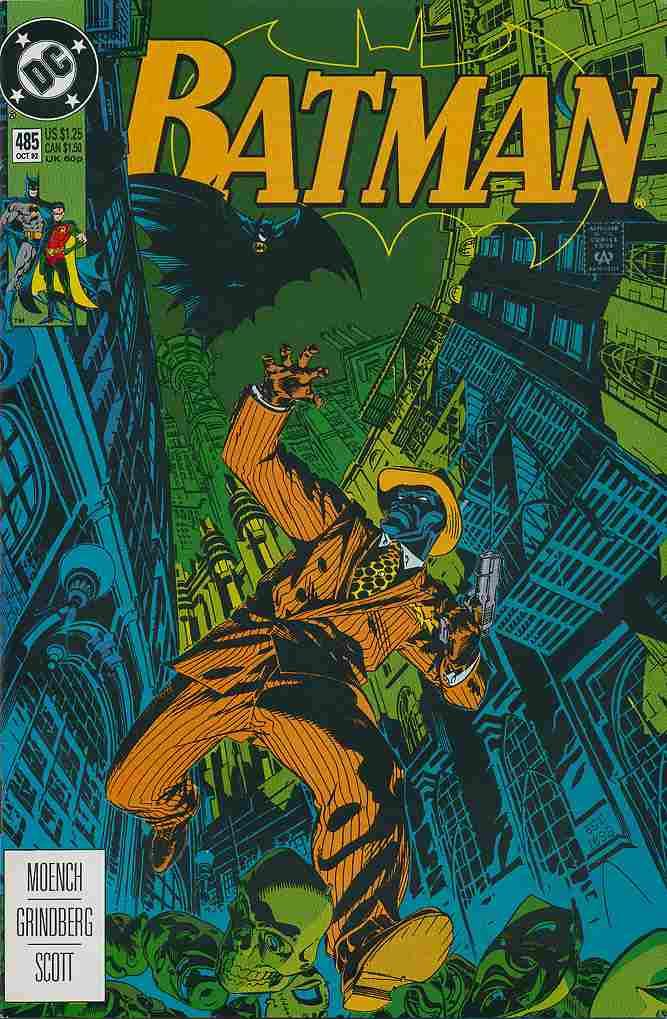 Batman comic issue 485