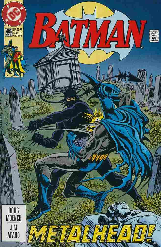 Batman comic issue 486
