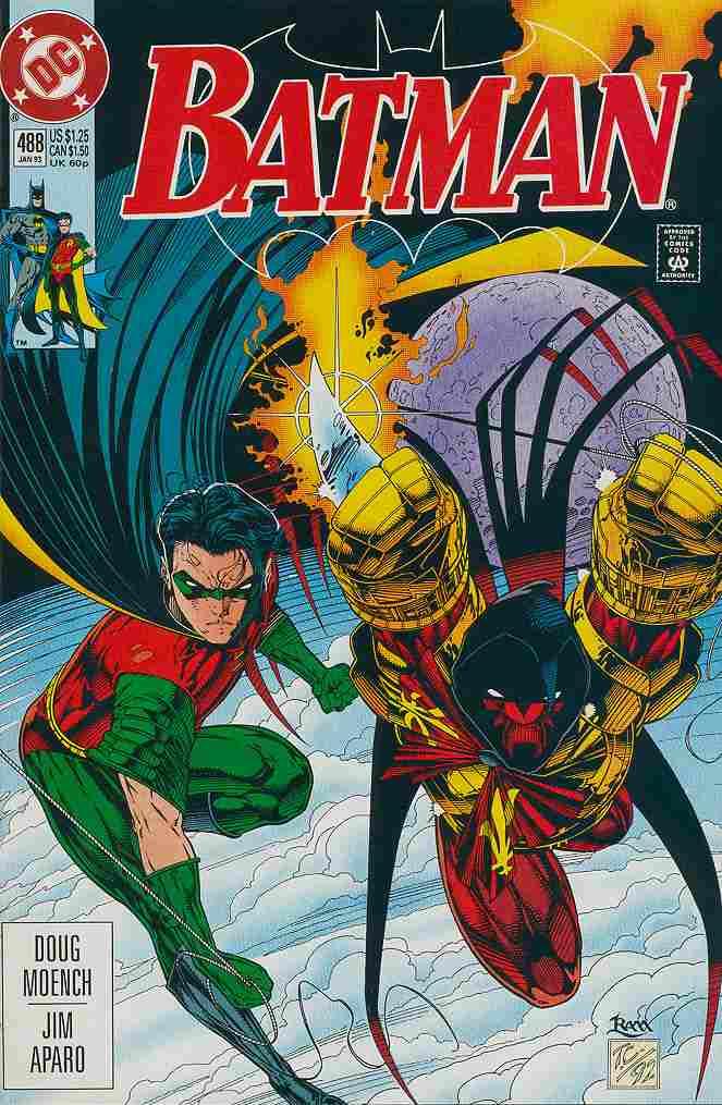 Batman comic issue 488