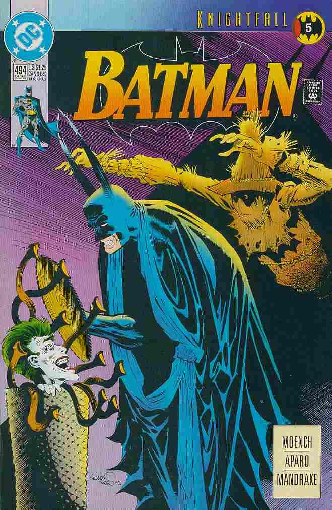 Batman comic issue 494