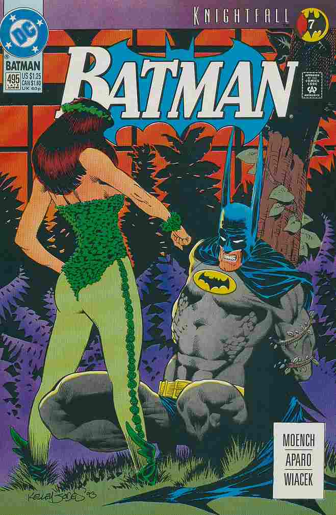 Batman comic issue 495
