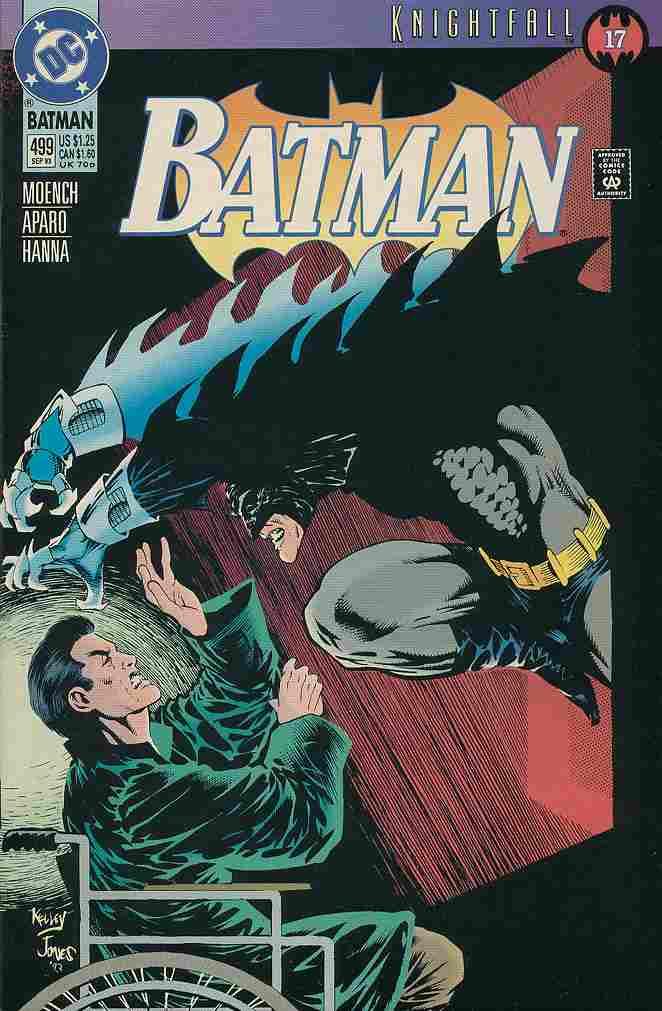 Batman comic issue 499