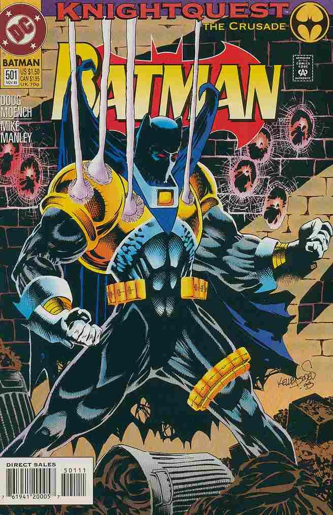 Batman comic issue 501