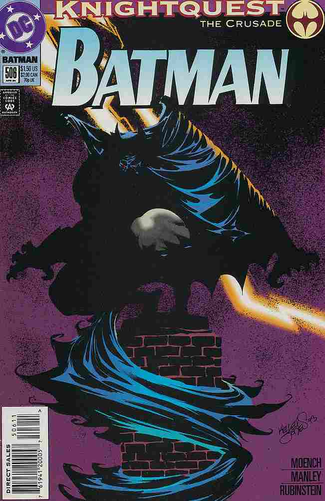 Batman comic issue 506