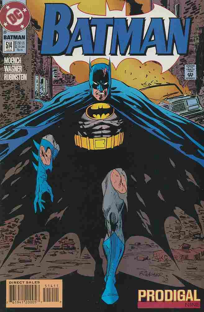 Batman comic issue 514