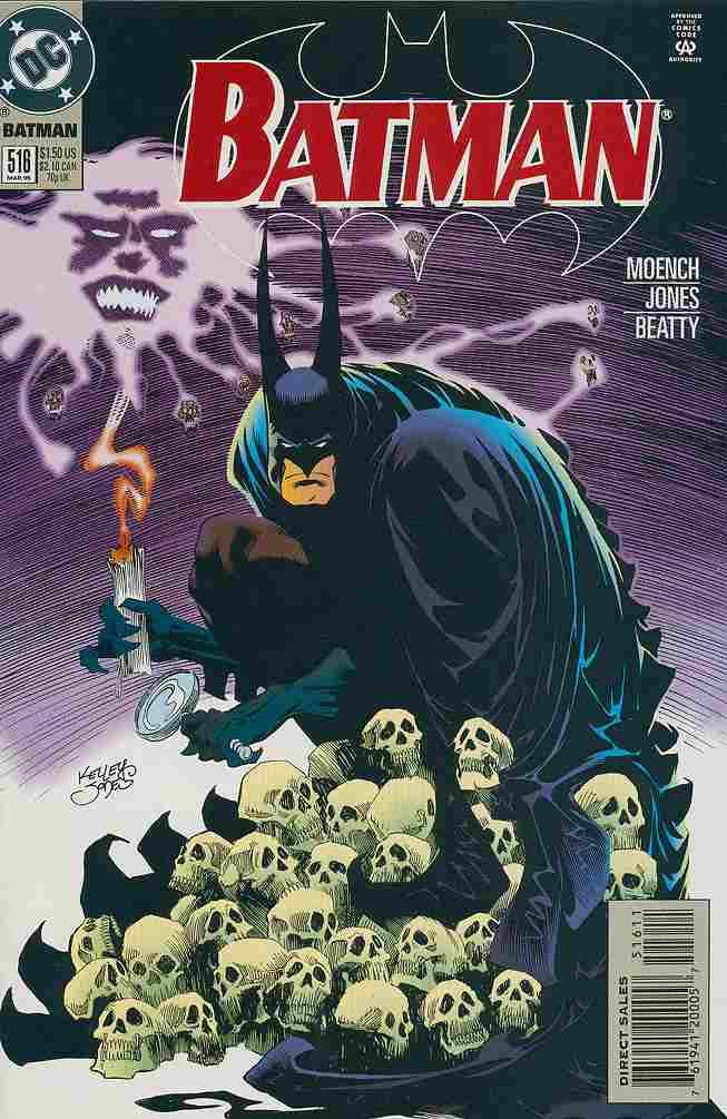 Batman comic issue 516
