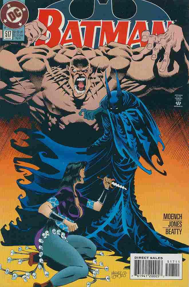 Batman comic issue 517