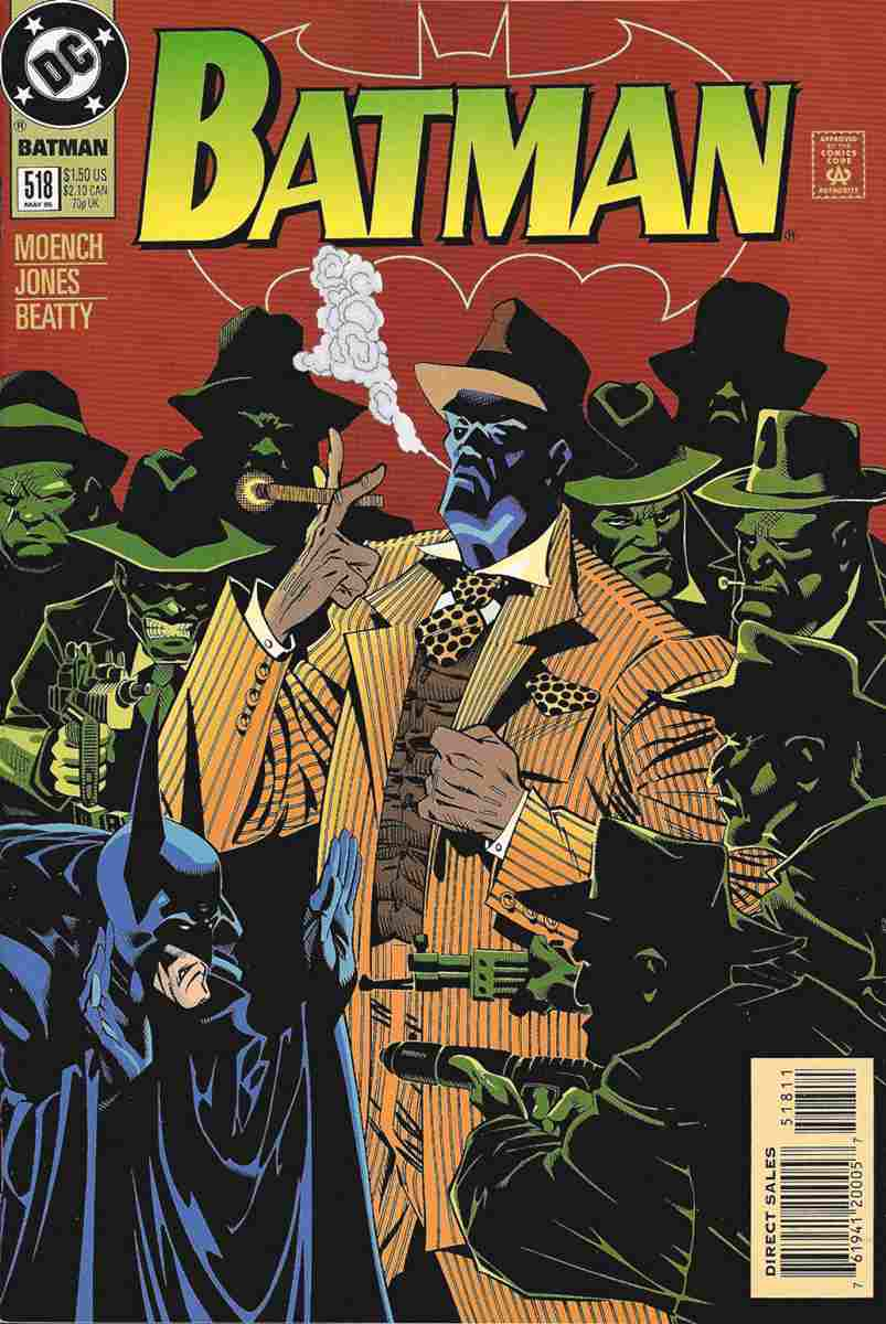 Batman comic issue 518