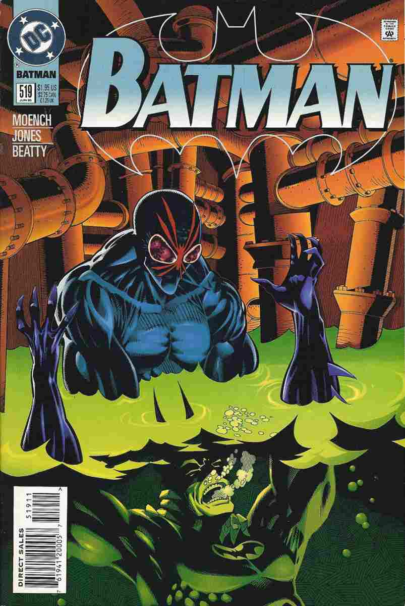 Batman comic issue 519