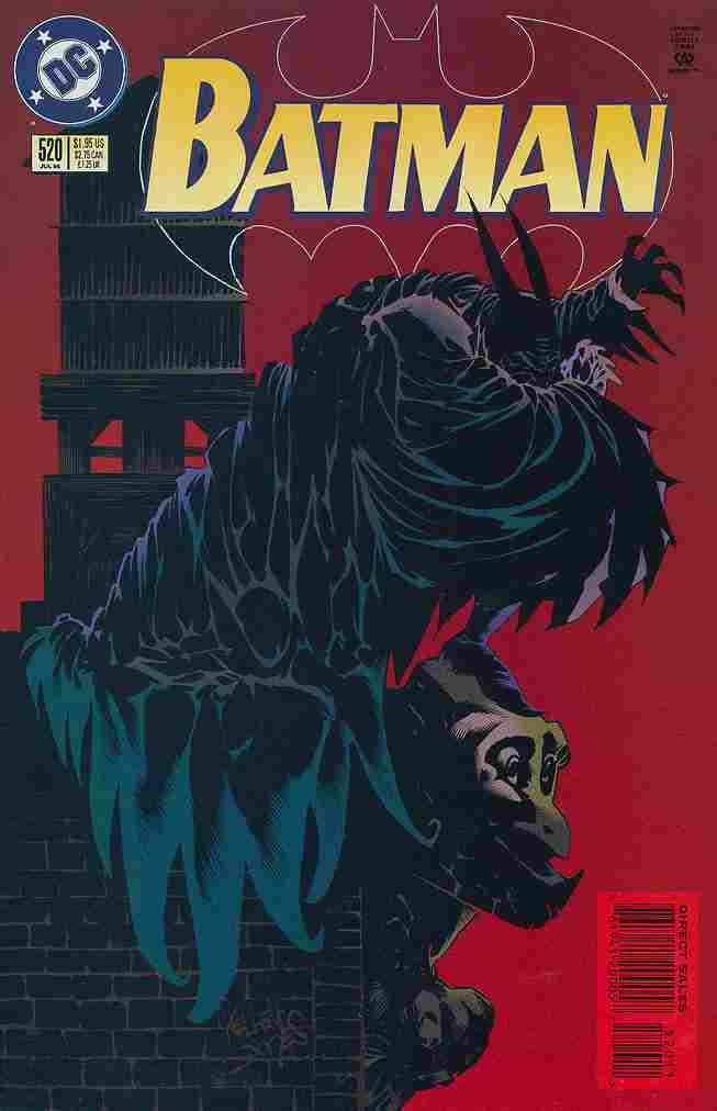 Batman comic issue 520