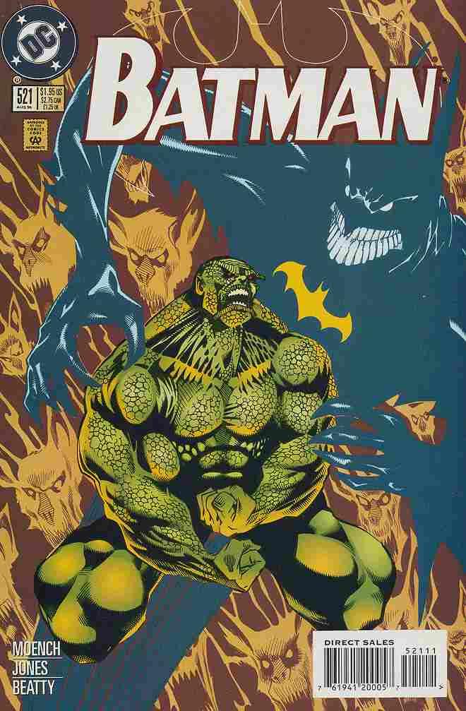 Batman comic issue 521