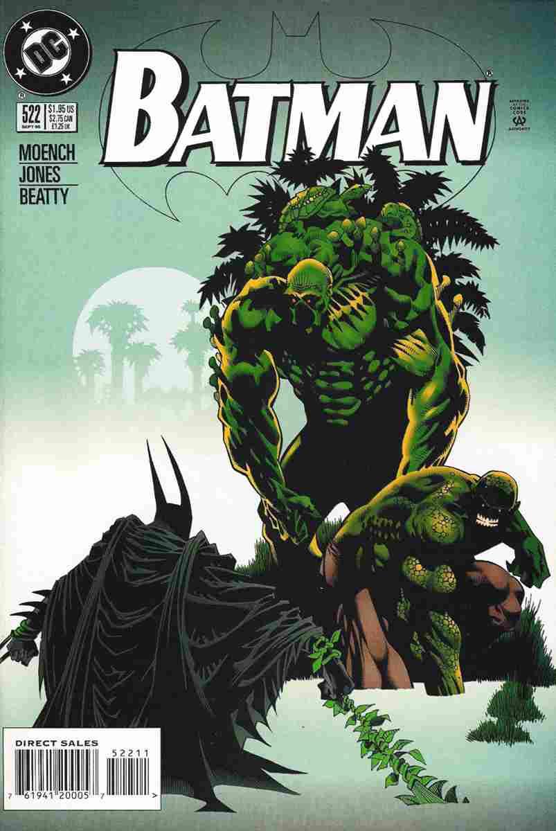Batman comic issue 522