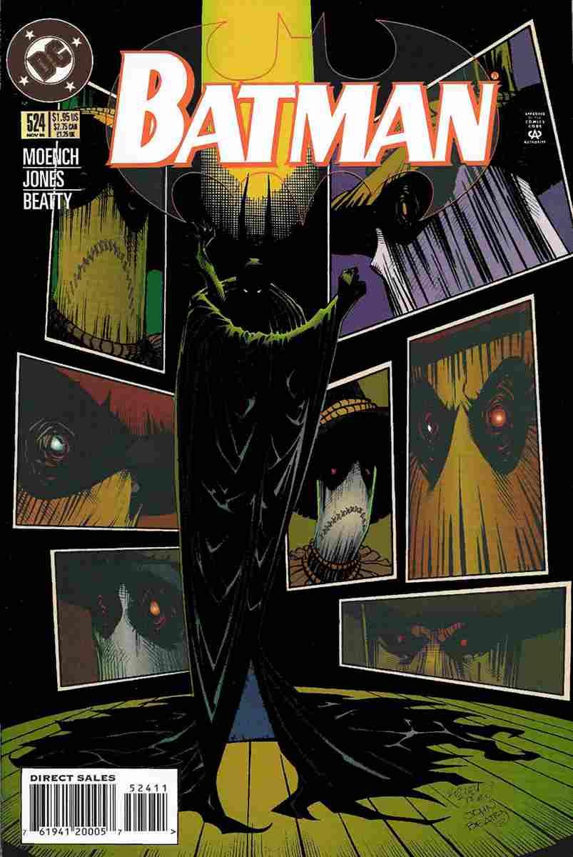 Batman comic issue 524