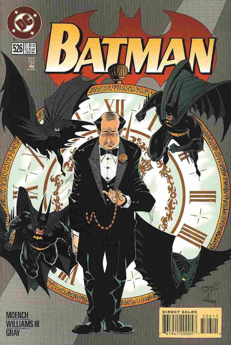 Batman comic issue 526