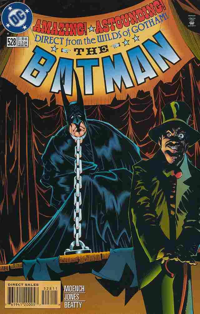 Batman comic issue 528