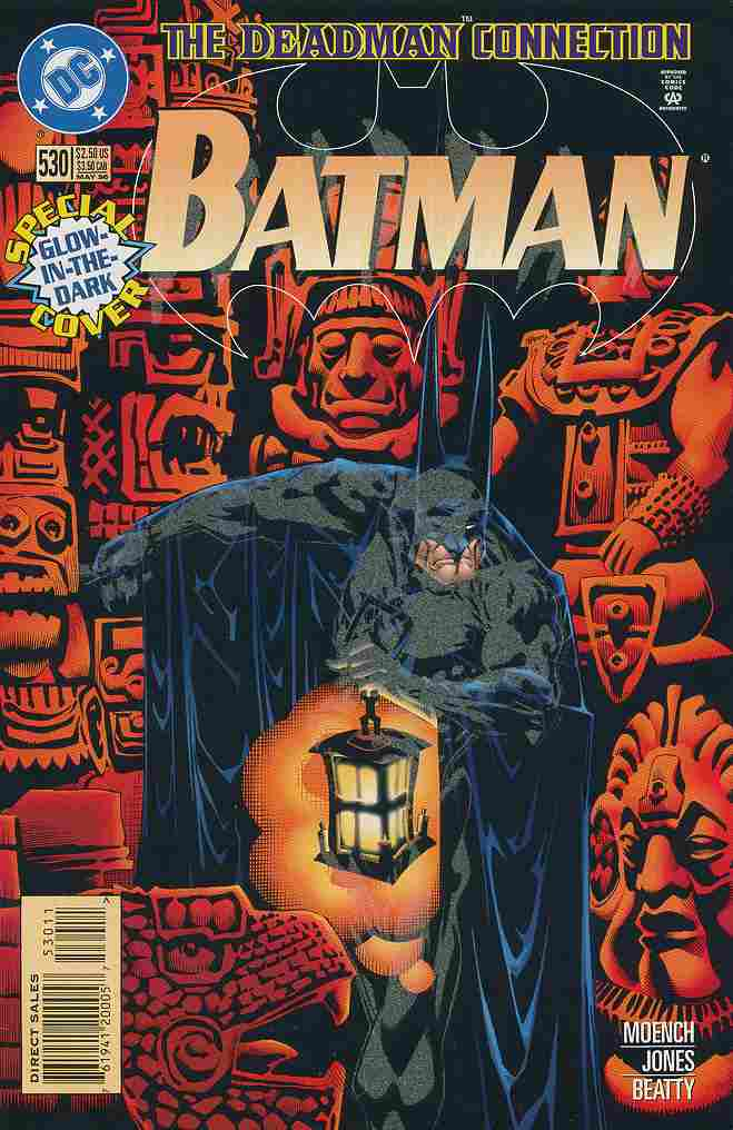 Batman comic issue 530