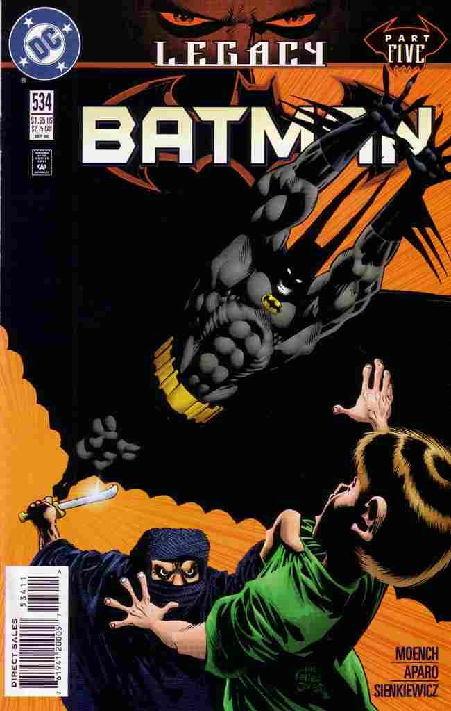 Batman comic issue 534