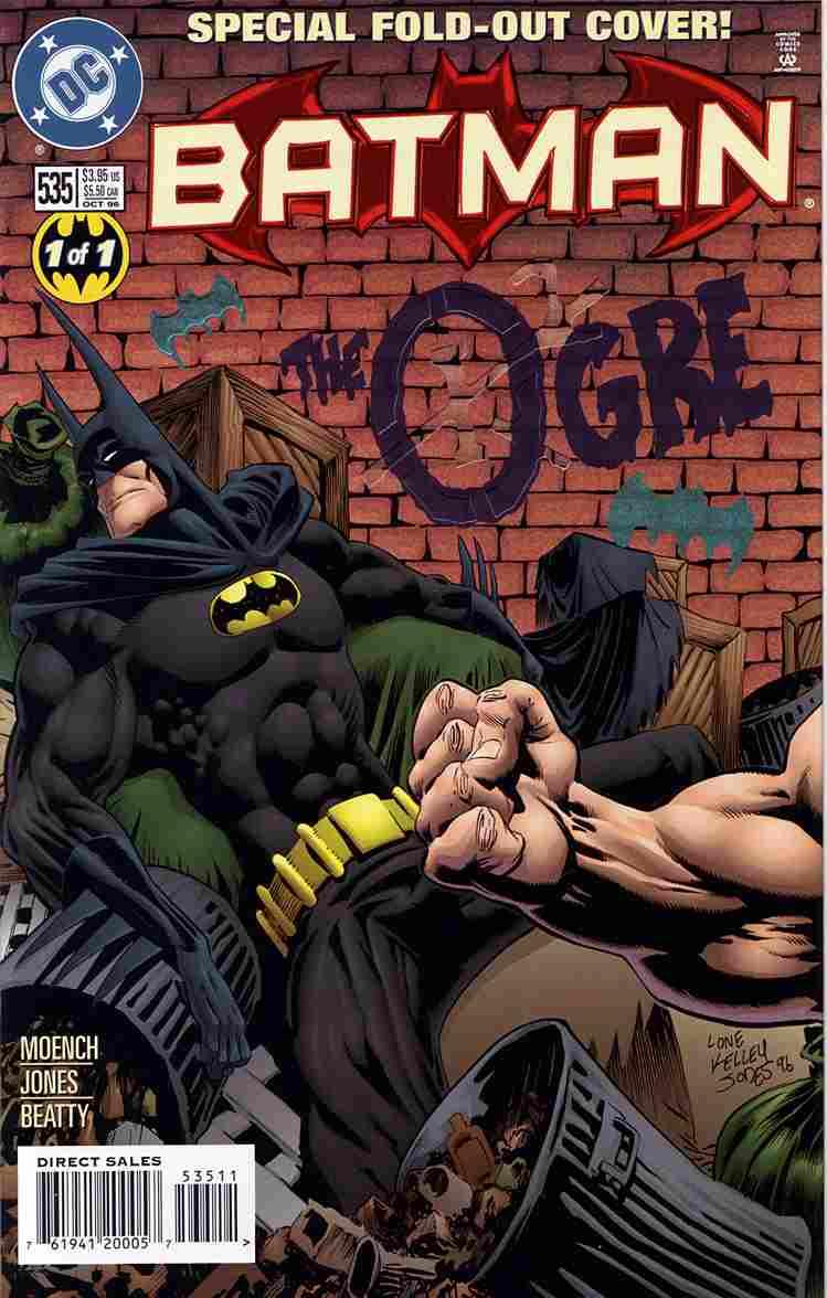Batman comic issue 535