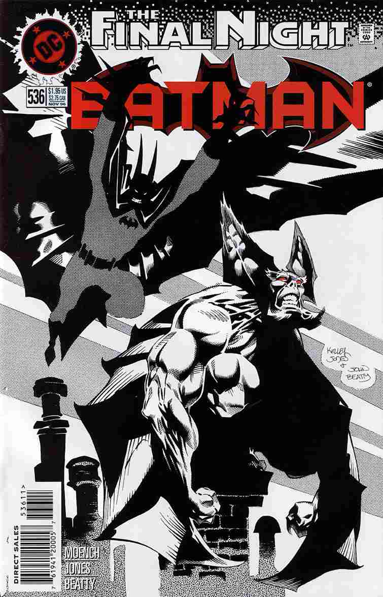 Batman comic issue 536