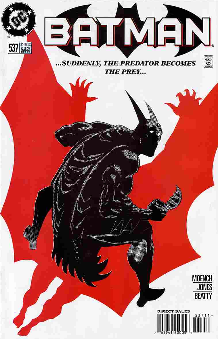 Batman comic issue 537