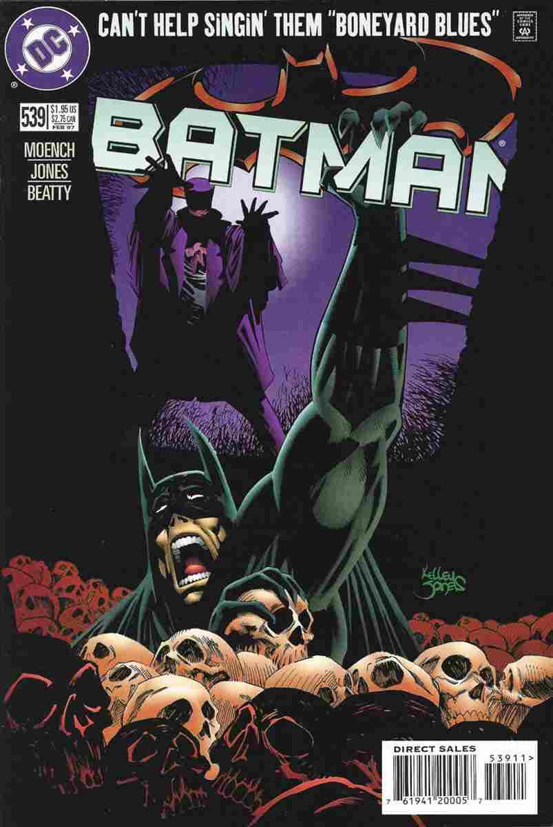 Batman comic issue 539
