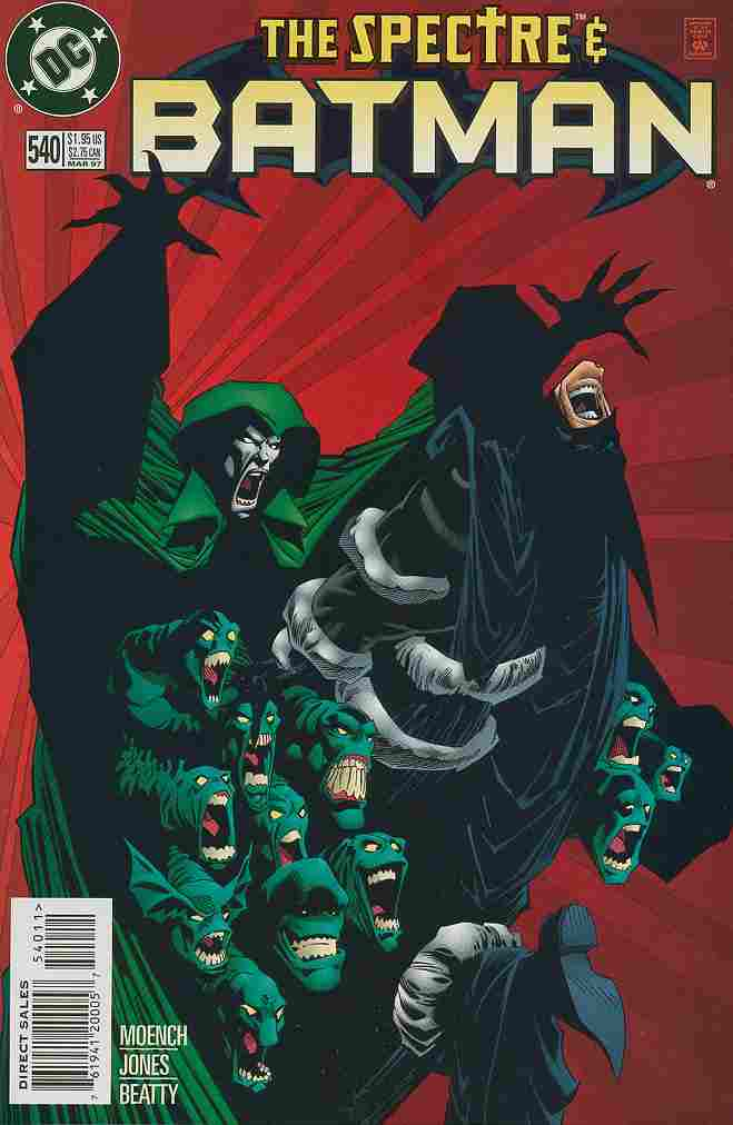 Batman comic issue 540