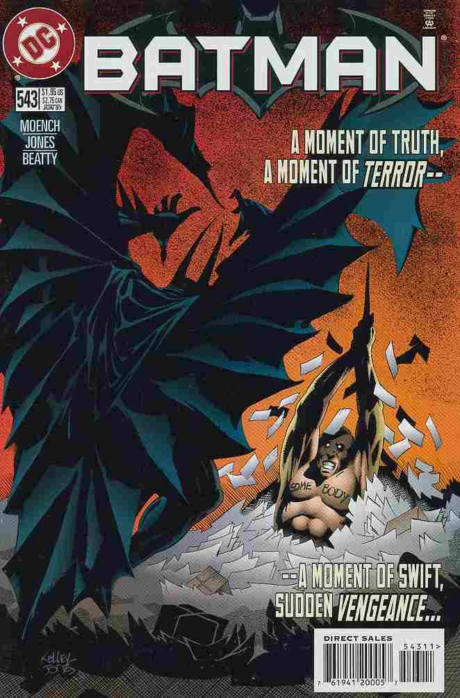 Batman comic issue 543