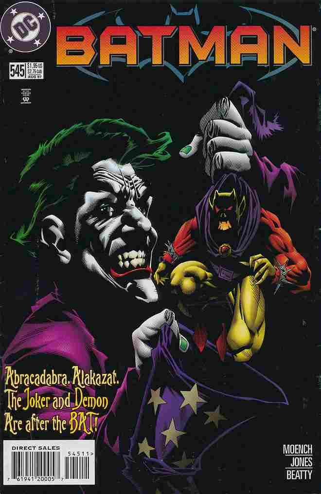 Batman comic issue 545