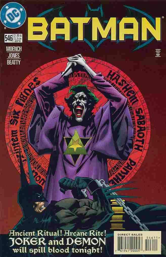 Batman comic issue 546