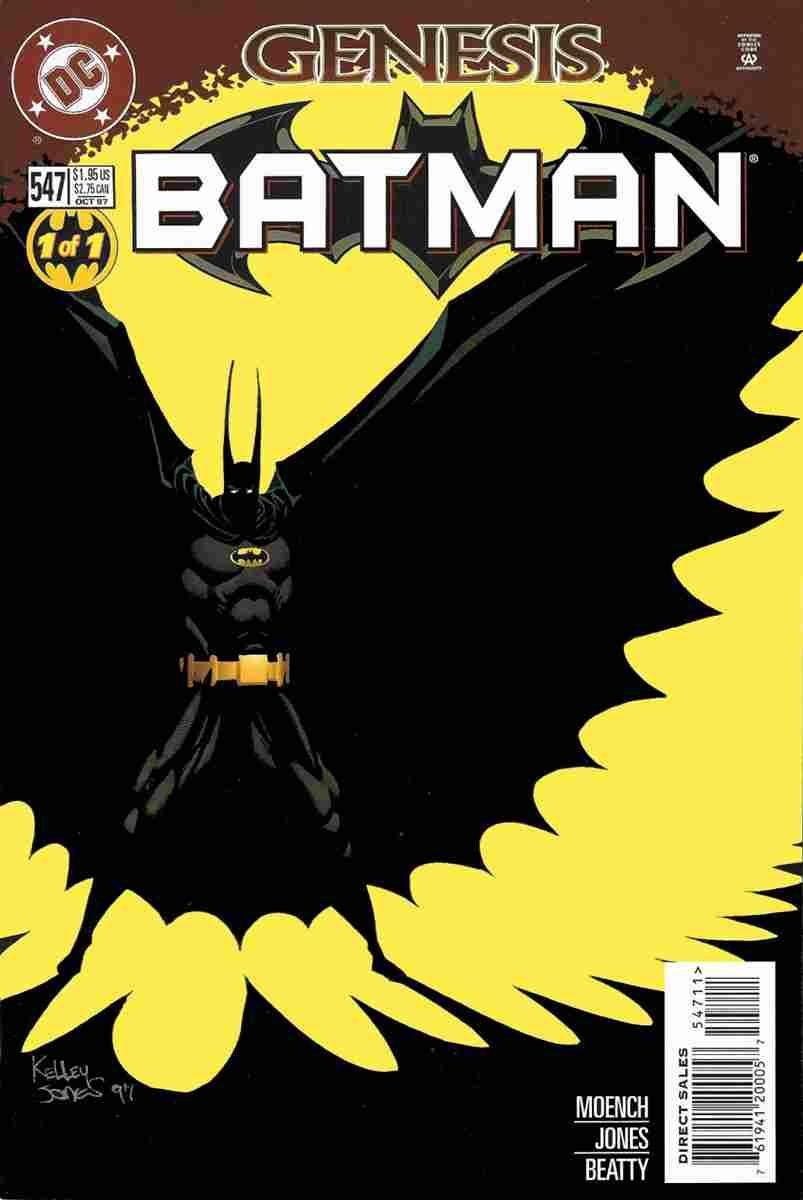 Batman comic issue 547