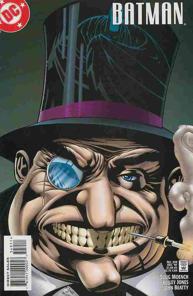 Batman comic issue 549