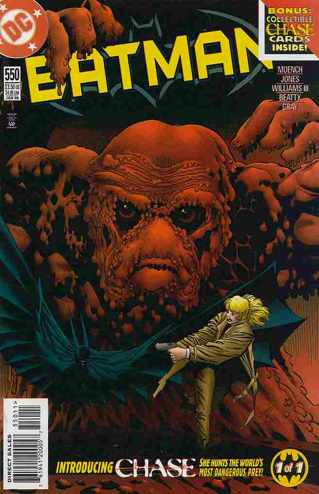 Batman comic issue 550