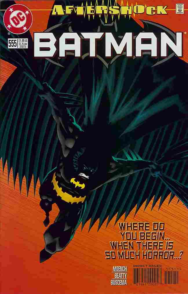 Batman comic issue 555