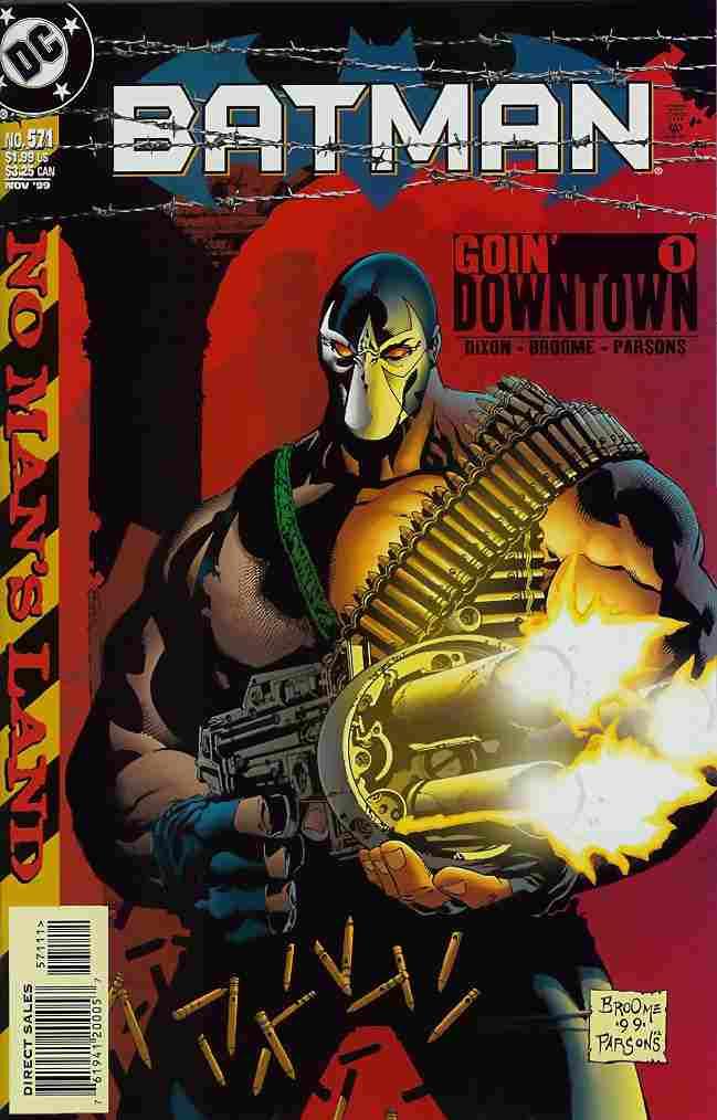 Batman comic issue 571