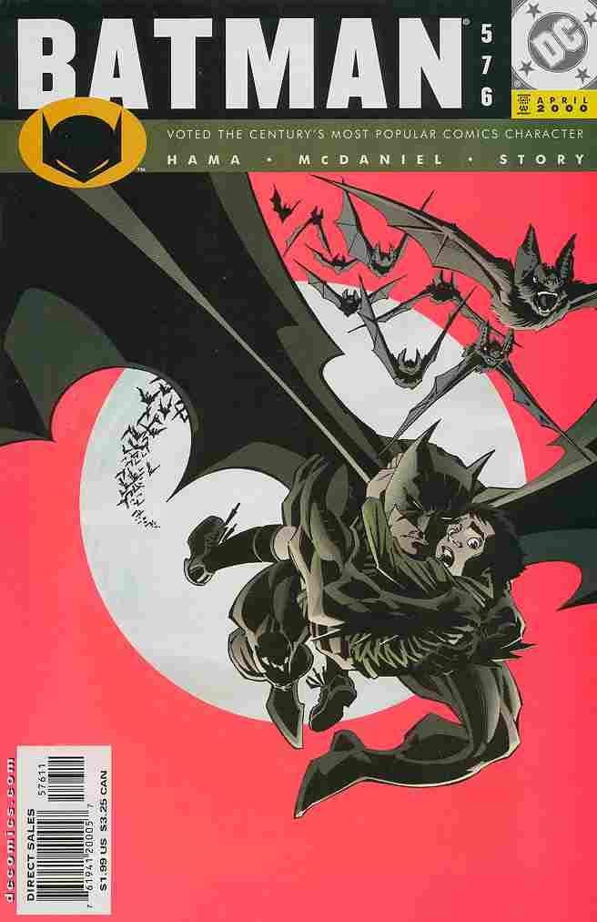 Batman comic issue 576