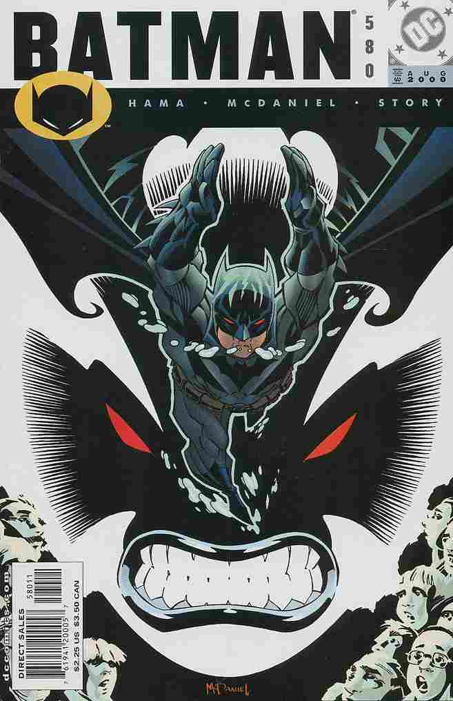 Batman comic issue 580