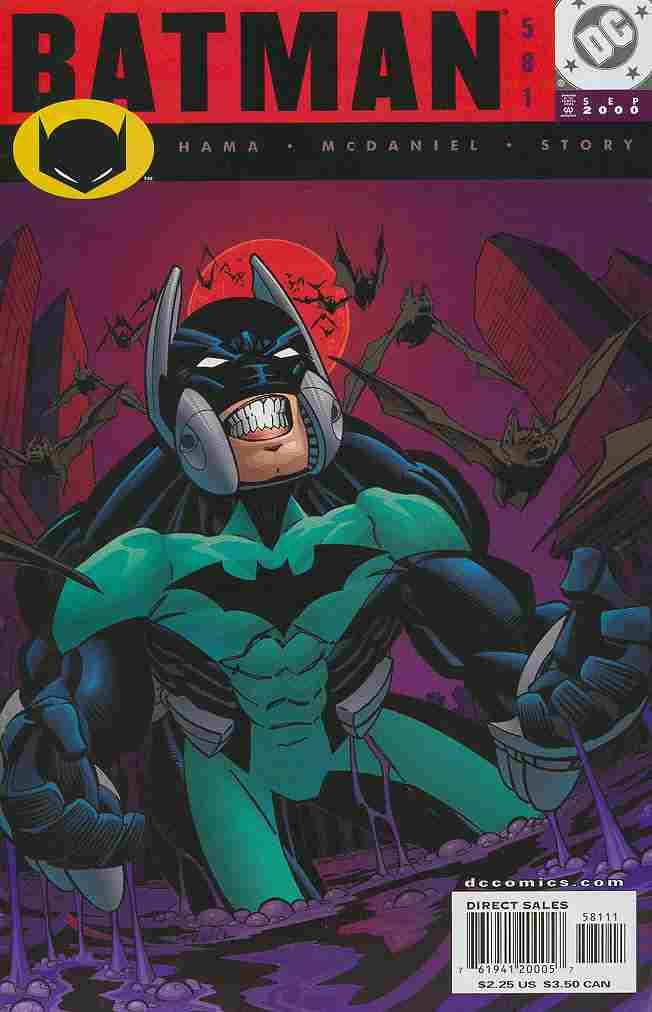 Batman comic issue 581