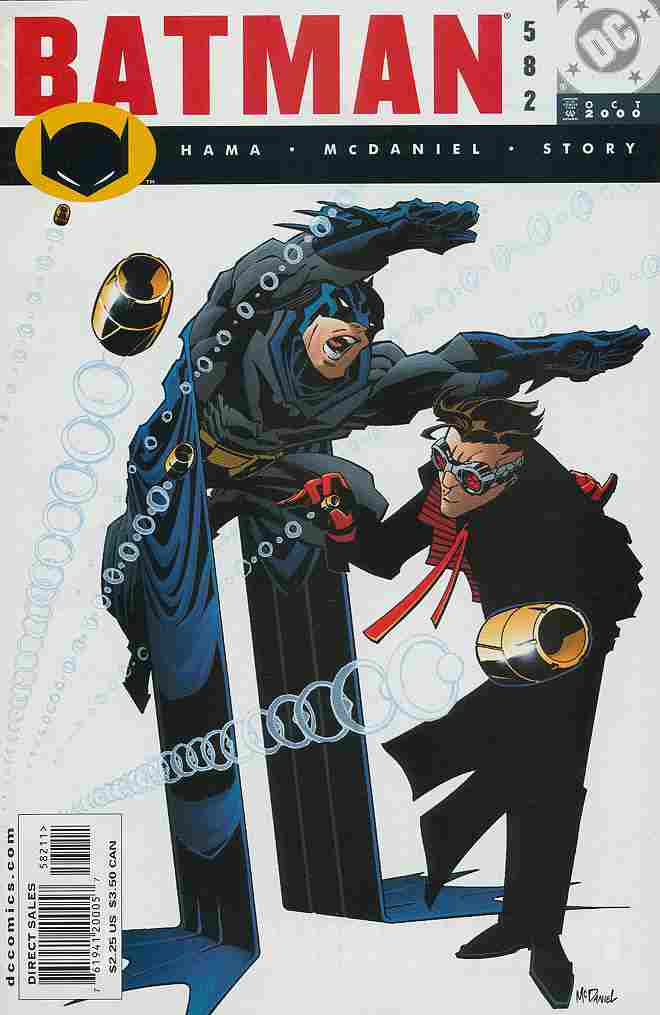 Batman comic issue 582