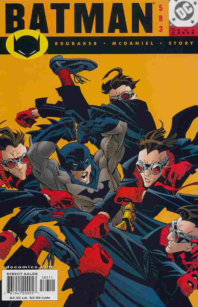 Batman comic issue 583
