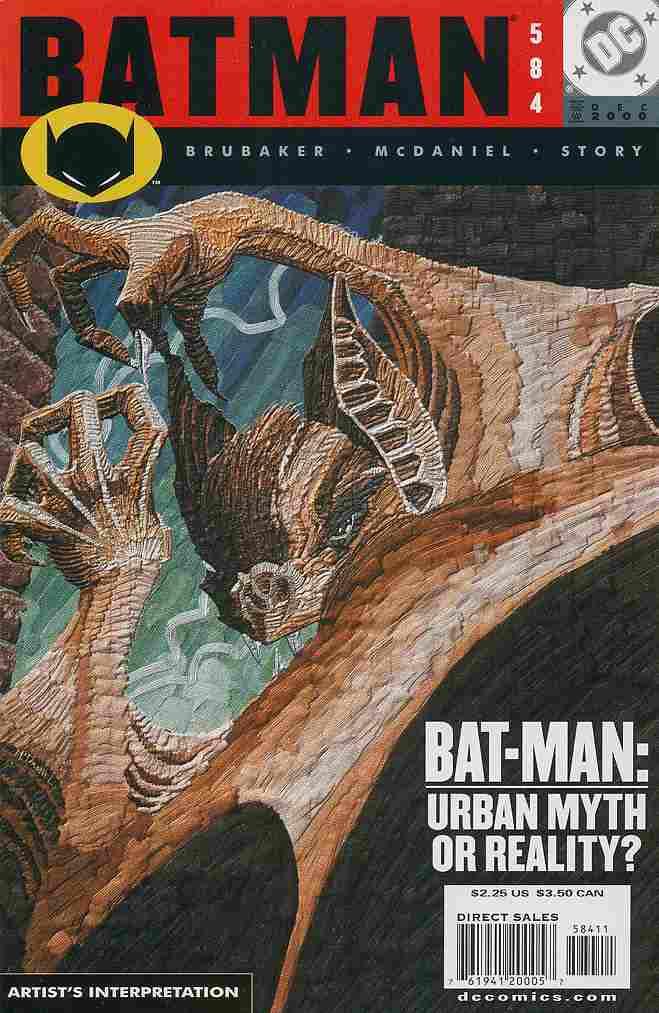 Batman comic issue 584