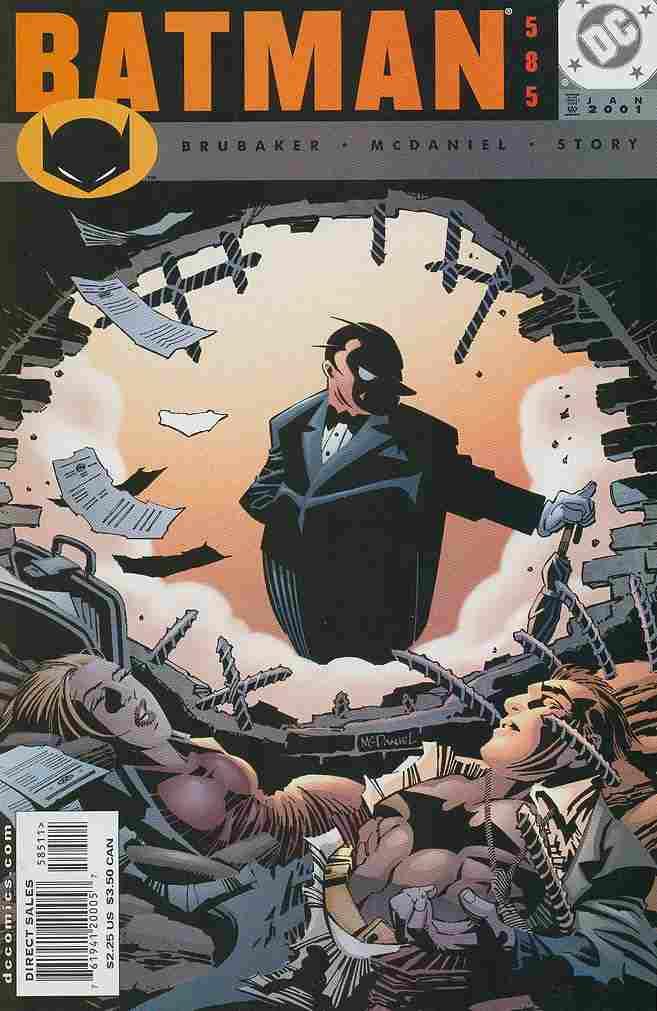 Batman comic issue 585
