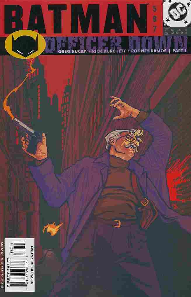 Batman comic issue 587