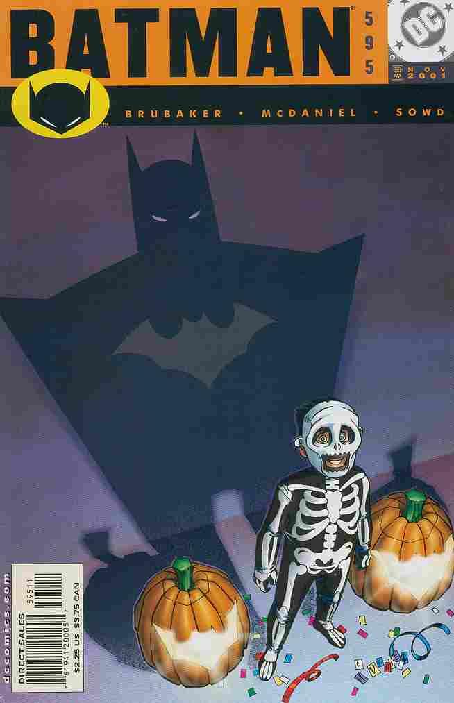 Batman comic issue 595