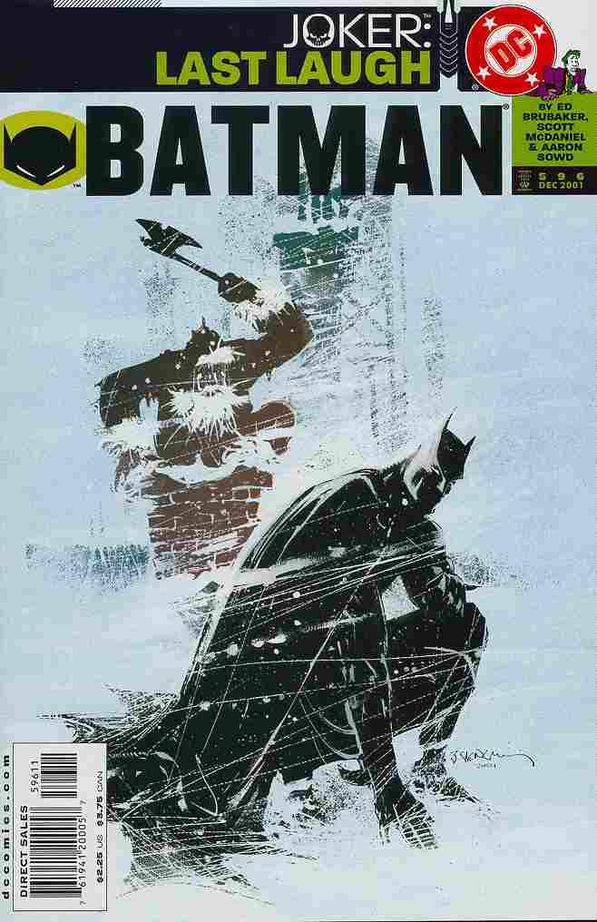 Batman comic issue 596