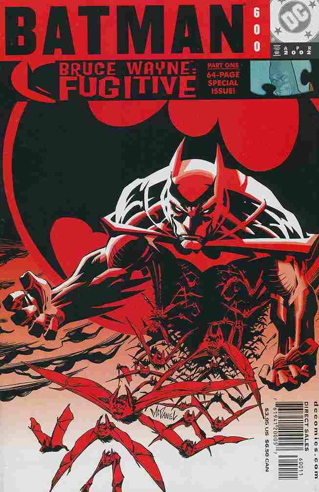 Batman comic issue 600